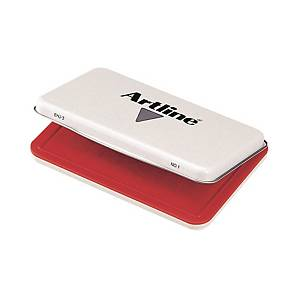 Artline Stamp Pad Red 67mm X 106mm