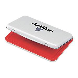 Artline Stamp Pad Red 56mm X 90mm