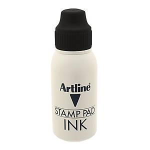 Artline Stamp Pad Refill Ink Black 50ml