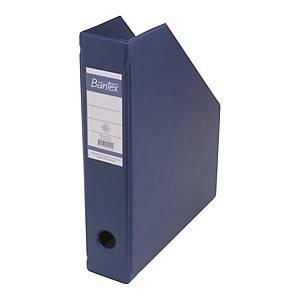 Bantex Foldable Magazine File Blue