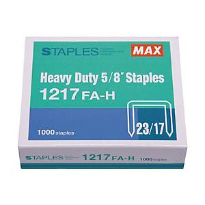 MAX No.23/17 Staples - Box of 1000