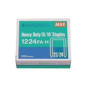 MAX No.23/24 Staples - Box of 1000