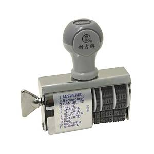 Shiny S-70 Multi-Functional Dater Stamp 4mm