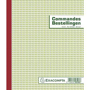 Exacompta 53103X COMMANDES/BESTELLINGEN, 50 blad doorschrijfpapier tripli