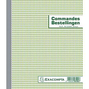 Exacompta 53104X COMMANDES/BESTELLINGEN, 50 blad doorschrijfpapier dupli