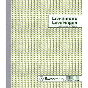Exacompta 53160X BON DE LIVRAISON/LEVERINGEN, 50 blad doorschrijfpapier dupli