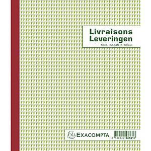 Exacompta 53161X BON DE LIVRAISON/LEVERINGEN, 50 blad doorschrijfpapier tripli
