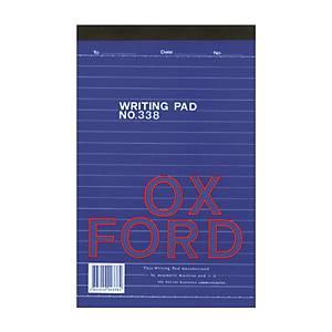 Oxford 338 Writing Pad A5