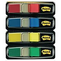 Distributeur Post-it Index 683-4, 11,9x43,2 mm, emballage de 4 pièces