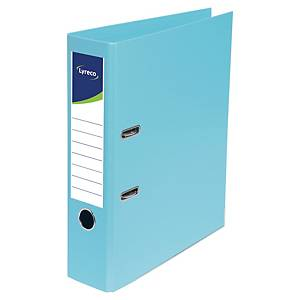 LYRECO LEVER ARCH FILE PP A4 80MM TURQ
