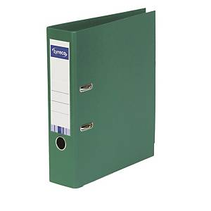 LYRECO LEVER ARCH FILE A4 45MM 2HOLE GREEN