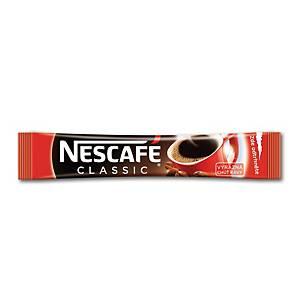 Porcovaná káva Nescafé Classic, 100 ks, à 2 g