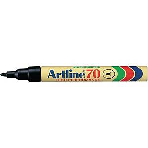 Permanent marker Artline 70, rund, sort