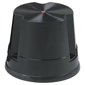 Rollhocker Twinco 6200 Twin Easy Step, aus Kunststoff, bis 150kg, schwarz