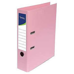 Lyreco lever arch file PP spine 50 mm pink