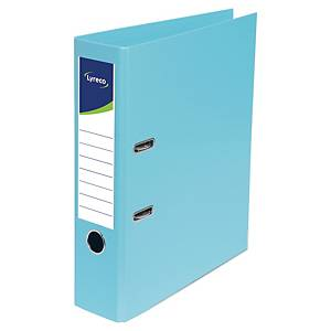 LYRECO LEVER ARCH FILE A4 45MM 2HOLE TURQ