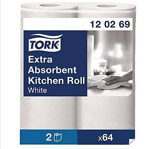 Haushaltspapier Tork Premium,2-lagig, Packung à 2 Rollen