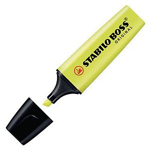 STABILO BOSS ORIGINAL HIGHLIGHTER 2-5 MM YELLOW