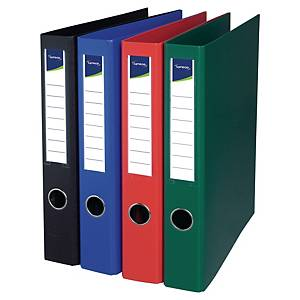 LYRECO 4-RING BINDER  30MM BLACK