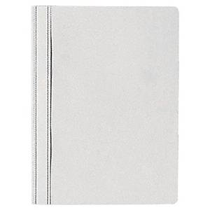 Economy White Polypropylene Project Files - Pack Of 25