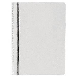 Nezávesný prezentačný rýchloviazač PP Lyreco Budget biely, balenie 25 kusov