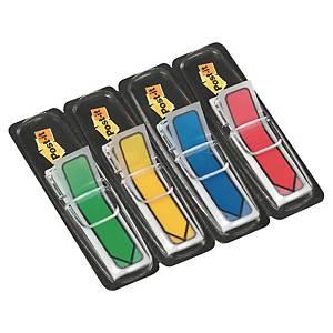 3M Post-it® 684 Index Haftstreifen, Pfeile, 12 x 44mm, 4 Farben à 24 Blatt