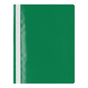 Skoroszyt LYRECO A4 z tworzywa miękkiego, zielony
