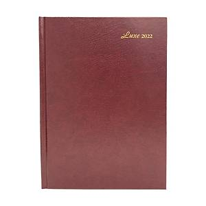 Luxe 41C Diary One Day/Page A4 Red