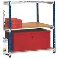 Rangeco muscular shelving hardboard shelves 35 cm depth - pack of 5