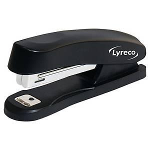Lyreco kisméretű asztali tűzőgép, fekete, 12 lap