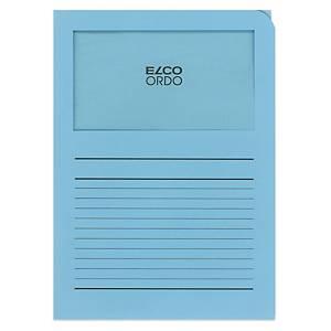Dossier d organisation Elco Ordo Classico 29489, imprimé, bleu,100unités