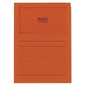 Dossier d organisation Elco Ordo Classico 29489, imprimé, orange,100unités