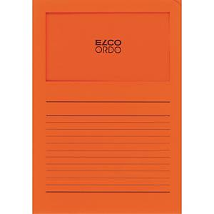 Elco 420511 Ordo Classico L-map met venster, A4, papier, oranje, 100 mappen