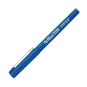 Artline Sign Pen 0.2mm Line Width Blue