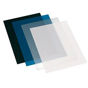 Pack de 100 cubiertas de encuadernación - A4 - PP - azul
