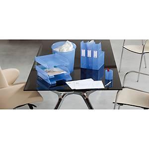 Caixote do lixo Archivo 2000 série 2001 - plástico - 15 L - azul translúcido