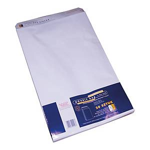PK20 ENVELOPES LDS-100 WHITE