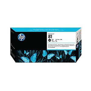 HP 81 Black Dye Printhead and Printhead Cleaner (C4950A)