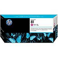HP 81 Magenta DesignJet Dye Printhead and Printhead Cleaner (C4952A)