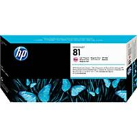 HP 81 Light Magenta Dye Printhead and Printhead Cleaner (C4955A)