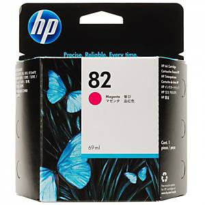 HP C4912A inkjet cartridge nr.82 red High Capacity [1.430 pages]