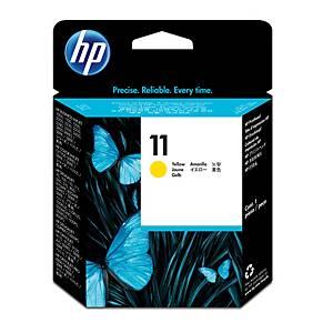 Cabezal de tinta HP 11 - C4813A - amarillo