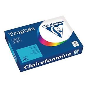 Papier kolorowy TROPHÉE A4, 80 g/m², pastelowy niebieski, 500 arkuszy