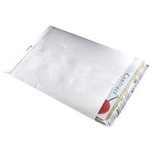 Tyvek® zakomslagen, B4, wit, 353 x 250 mm, per 50 omslagen