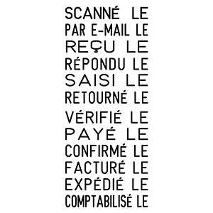 Tampon multi-formules Trodat Printy 4817 - encrage automatique