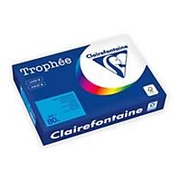 Carta colorata Trophee A4 80 g/mq turchese - risma 500 fogli