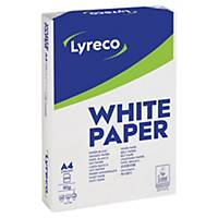 Kopierpapier Lyreco A4, 80 g/m2, weiss, Box à 5x500 Blatt