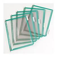 Tarifold T-display Industrial pót bemutatótáblák, A4, zöld, 10 darab/csomag