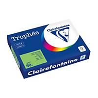 Kopierpapier Trophée 1875 A4, 80 g/m2, maigrün, Pack à 500 Blatt