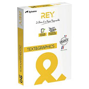 Papier blanc A4 Rey Text and Graphics - 90 g - ramette 500 feuilles